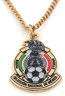 JF Sports Canada International Soccer Mexico National Team Necklace, Small