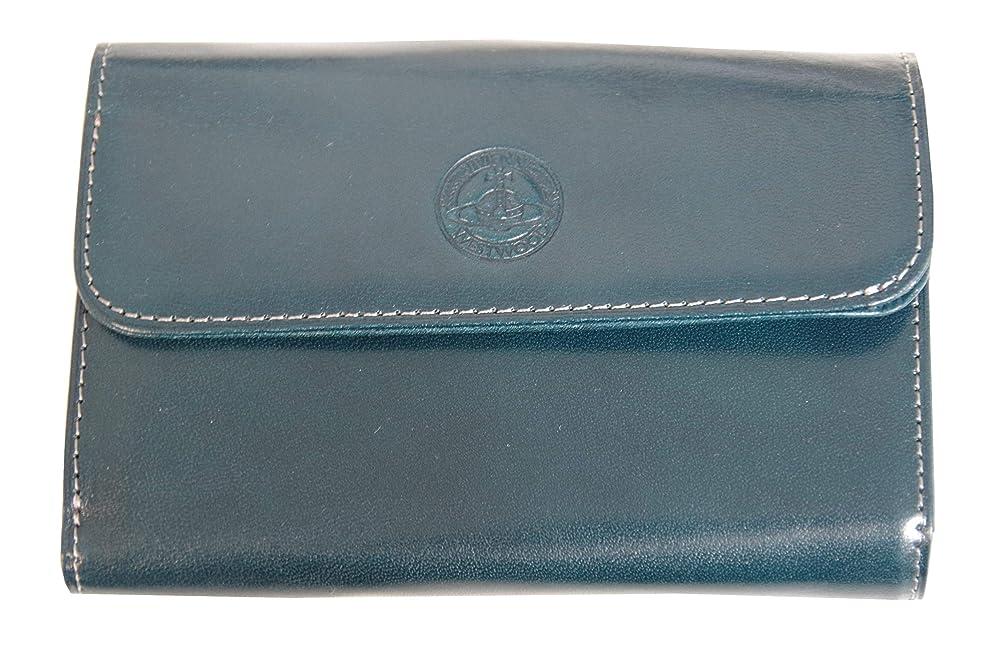 頻繁にアボート補充Vivienne Westwood ヴィヴィアンウエストウッド 財布 シャイン 本革 ネイビー K22630 新品