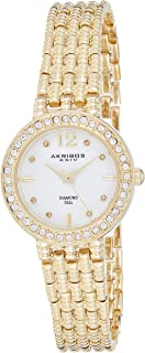 Akribos XXIV Women's Empire Analogue Display Bracelet Watch