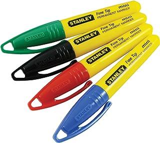 comprar comparacion Stanley 2-47-329 Marcador mini punta multicolor blister, Set de 4 Piezas