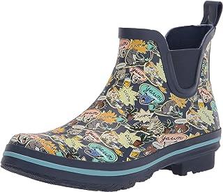 Skechers Rain Check - Catmic print chelsea rain boot womens Rain Boot