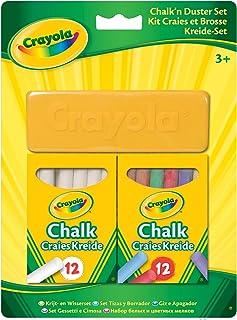 Crayola - Kit craies et brosse - Loisir créatif - à partir de 4 ans - Jeu de dessin et coloriage