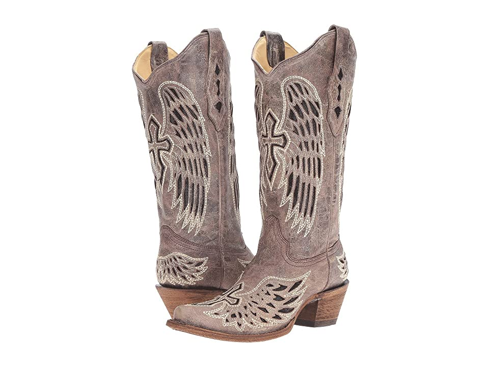 Corral Boots A1241 (Brown/Black) Women