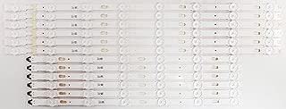 Full Set of BN96-39659A / BN96-39660A Samsung Backlights / LED Strips for UN55KU6000FXZX