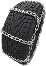 TireChain.com 225/70R19.5, 225/70 19.5 Extra Heavy Duty Mud Tire Chains Set of 2
