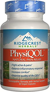 Ridgecrest Herbals PhysiQOL Supplement, 60 Count