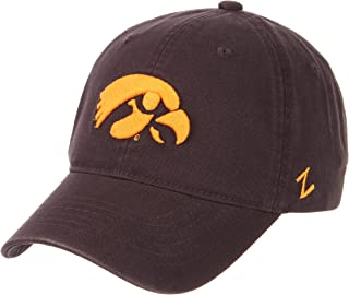 Zephyr NCAA Mens Relaxed Fit Scholarship- Adjustable Cotton Crew Hat Cap