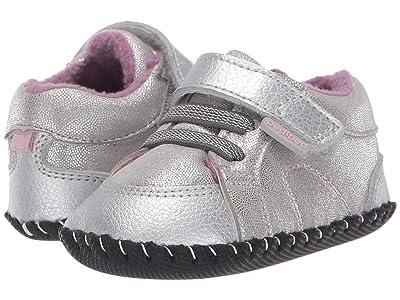 pediped Dani Originals (Infant) (Silver Shimmer) Girl