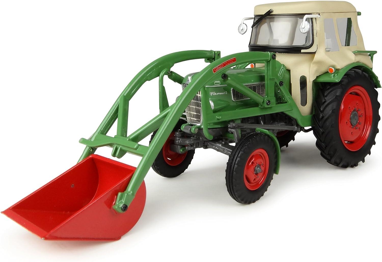 Universal Hobbies UH4946 FENDT Farmer 2 with Cabin & Front Loader 1 32 DIE CAST kompatibel mit