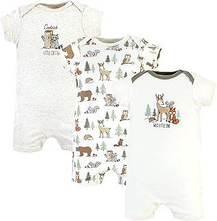 Hudson Baby Kombinezon dziecięcy Uniseks - niemowlęta Hudson Baby Unisex Baby Cotton Rompers, Forest Animals