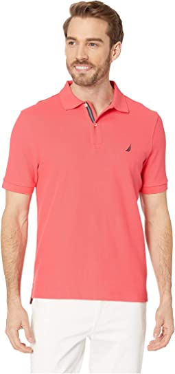 Short Sleeve Solid Performance Deck Polo