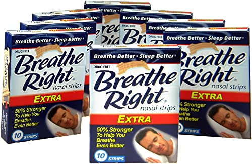 wholesale Breathe discount Right Nasal Strips, Extra, 10ct (Pack of new arrival 8) outlet online sale