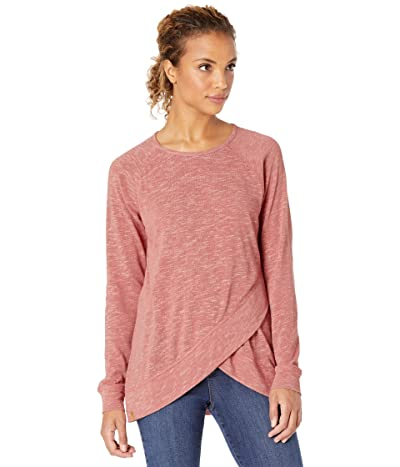 tentree Acre Long Sleeve (Withered Rose Marled) Women