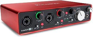 Focusrite Scarlett 2i4-2a Geração Interface de gravação USB e Midi