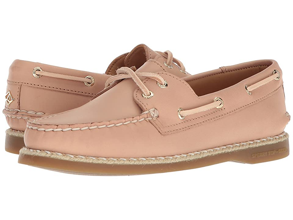 Sperry A/O 2-Eye Braided Jute Welt (Nude) Women