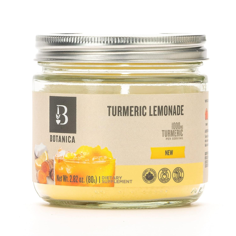 Botanica Health Max 45% OFF Turmeric Lemonade Mix Organi Powder Max 78% OFF Superfood -