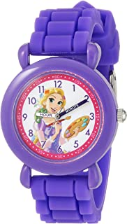 Girls' Princess Analog-Quartz Watch with Silicone Strap,...