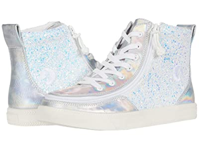 BILLY Footwear Kids Classic Lace High (Little Kid/Big Kid) (Unicorn Metallic Glitter) Girl