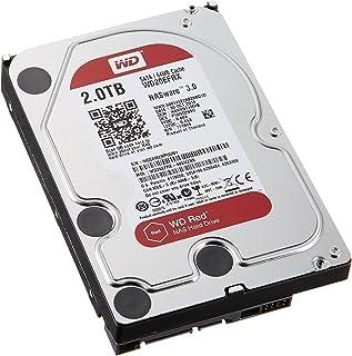 WD 製 Red モデル 内蔵ハードディスク(HDD) 2TB 3.5インチ ロジテックの保証・無償ダウンロード可能なソフト付【LHD-WD20EFRX】