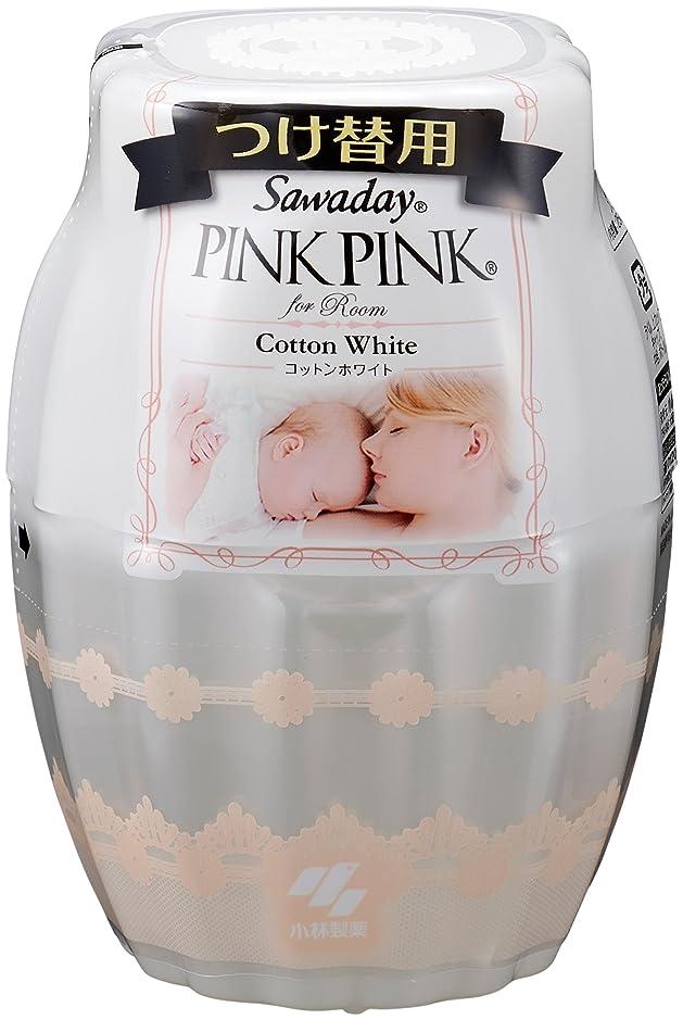 疲労示す告白するサワデーピンクピンク 消臭芳香剤 部屋用 詰め替え用 コットンホワイト 250ml
