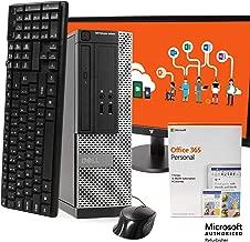 "$619 » Dell 3020 Desktop Computer PC, Intel i5 3.2GHz, 16GB RAM, 512GB SSD, Windows 10 Pro, Microsoft Office 365 Personal, New 21.5"" LCD, New 16GB Flash Drive, DVD, Keyboard, Mouse, WiFi, Bluetooth (Renewed)"