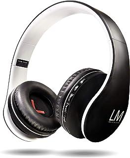 comprar comparacion Louise&Mann Auriculares Bluetooth Diadema, Cascos Bluetooth 5.0 Inalámbricos, Casco Inalámbrico Plegable, 15Hrs de la Bate...
