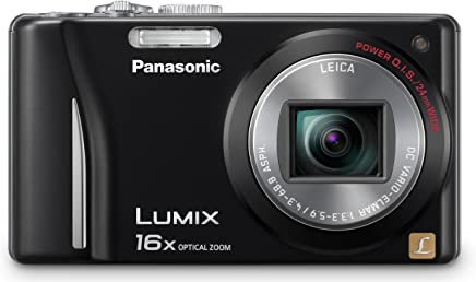 Panasonic DMC-ZS9K 14.1 MP Digital Camera with 16 x Optical Zoom - Black
