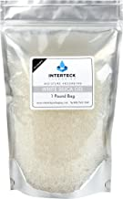 Interteck Packaging Industry Standard 2-5 mm White Beaded Silica Gel Dessicant and Dehmidifier 1 Pound
