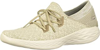 Skechers You Exhale Taupe Sneakers