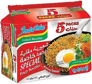 Indomie Stir Fried Noodles, 5 x 80 g (Pack of 1)