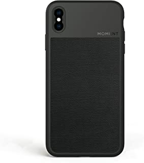 iPhone Xs Case || Moment Photo Case in Black Canvas - Protective, Durable, Wrist Strap Friendly case for Camera Lovers.