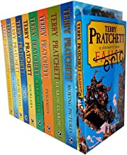 Terry pratchett Discworld novels Series 1 and 2 :10 books collection set