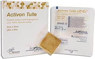 Dukal CR4135 Manuka Honey Activon Tulle, Sterile, 2