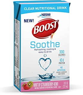 BOOST Soothe Nutritional Beverage, Strawberry Kiwi 8 Ounce (Pack of 27)