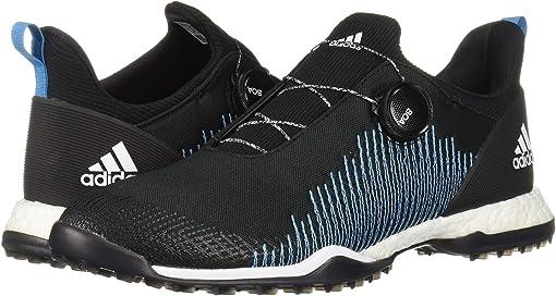 Core Black/Footwear White/Shock Cyan