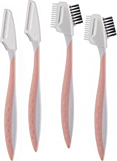 Finishing Touch Flawless Dermaplane Facial Exfoliator and Hair Remover, 4 Count