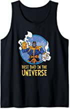 Marvel Thanos Best Dad in the Universe Father's Day Tank Top