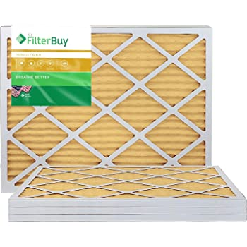 Nordic Pure 16x18x1 Exact MERV 10 Pleated AC Furnace Air Filters 6 Pack