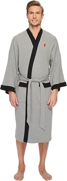 Carole hochman waffle knit short zip robe, Clothing | Shipped Free ...