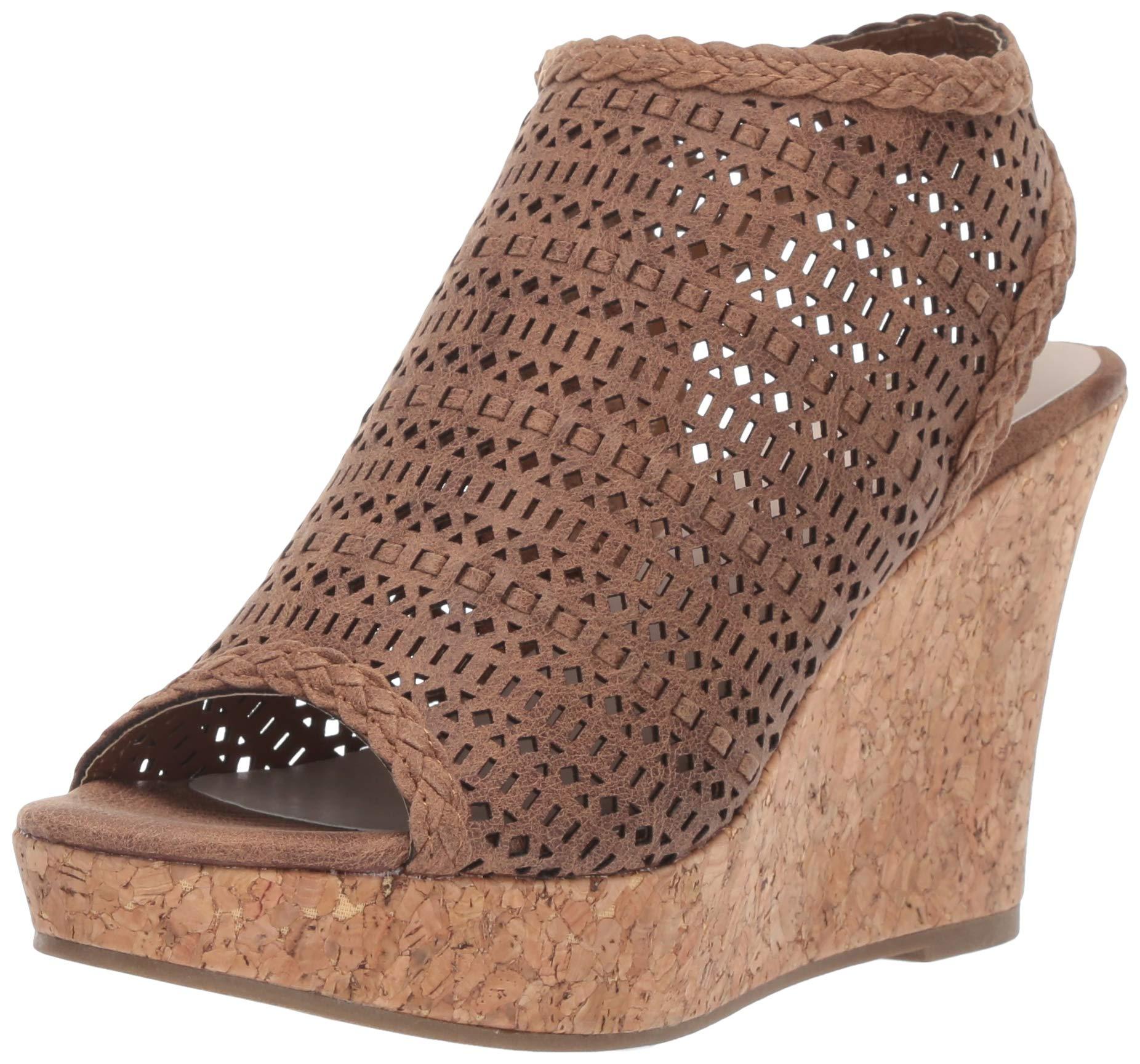 Fergalicious Womens Kealey Wedge Sandal