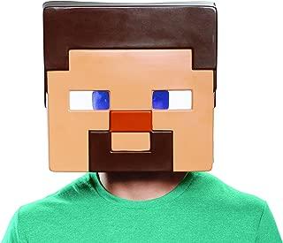 Disguise Men's Minecraft Steve Adult Mask
