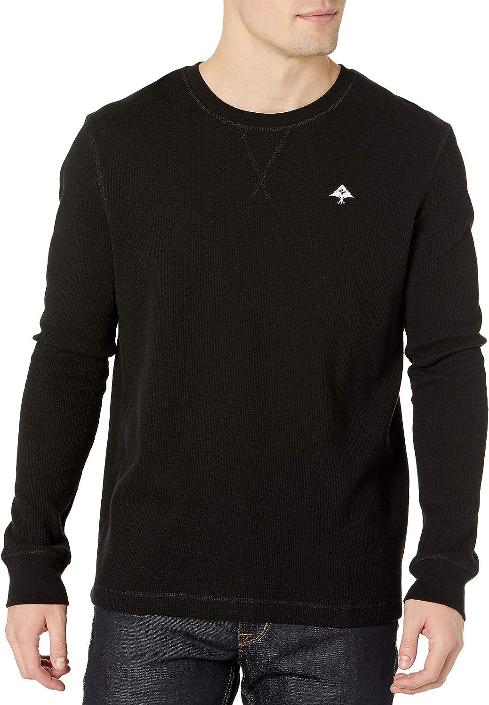 LRG Men's Long Sleeve Indefinitely Popular Raglan Henley Shirt