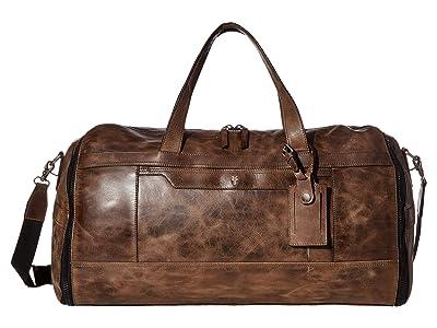 Frye Holden Garment Duffel (Dark Grey) Bags