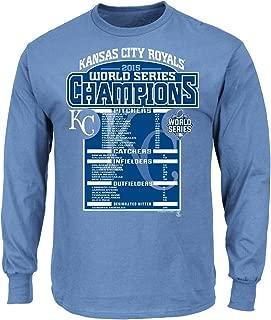 MLB Kansas City Royals Womens 2015 World Series Champions 47 Primetime Hood