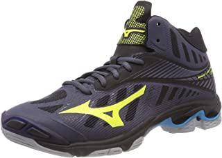 MIZUNO Wave Lightning Z4MID Men's Volleyball Shoes, Black