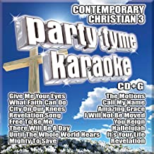 Party Tyme Karaoke – Contemporary Christian 3 (16-song CD+G)
