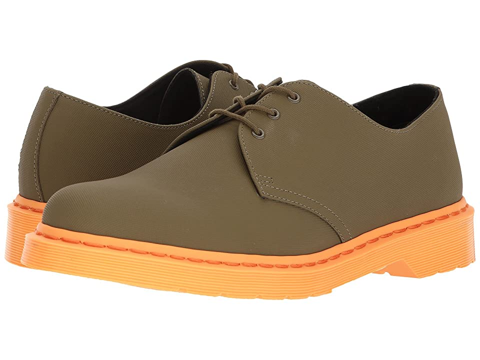 Dr. Martens 1461 3-Eye Shoe (Mid Olive Ajax) Men