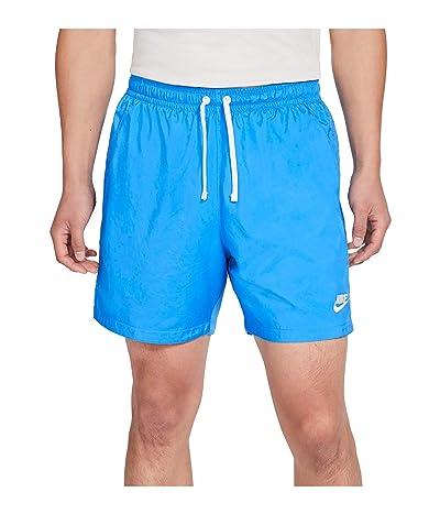 Nike NSW Woven Flow Shorts (Light Photo Blue/White/White) Men