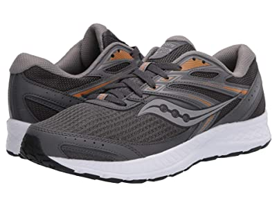 Saucony Versafoam Cohesion 13 (Dark Grey/Orange) Men