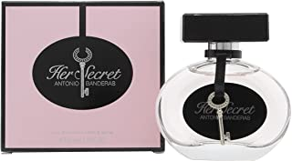 Her Secret by Antonio Banderas for Women - Eau de Toilette, 50ml